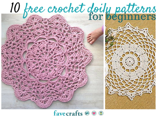 13 Free Crochet Doily Patterns for Beginners | Free crochet doily ...