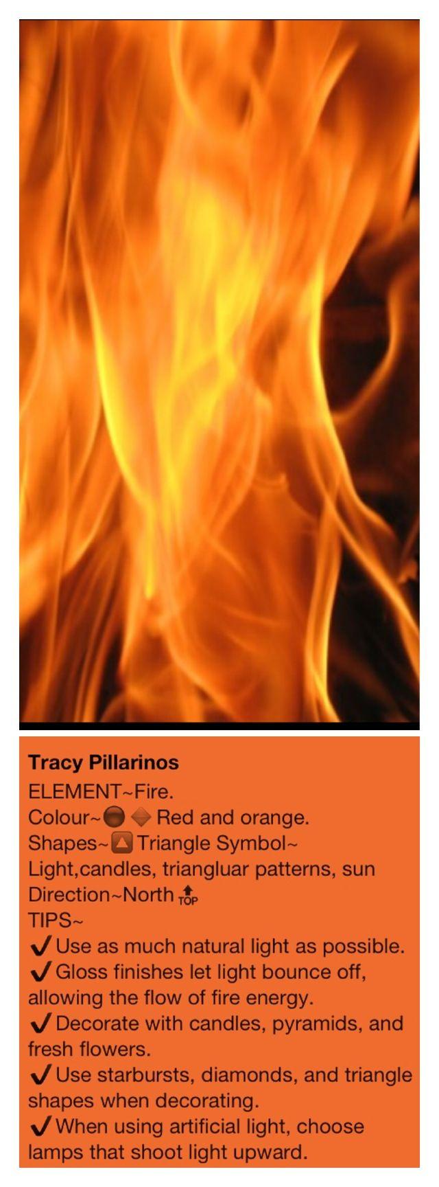 The Elements of Feng Shui  FIRE. From my board #Feng Shui by #Luxurydotcom