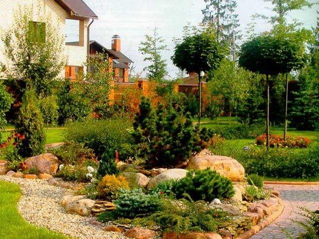 садовый дизайн своими руками фото на участке