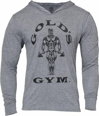 Gold/'s Gym-Muscle Joe Longsleeve Hoodie