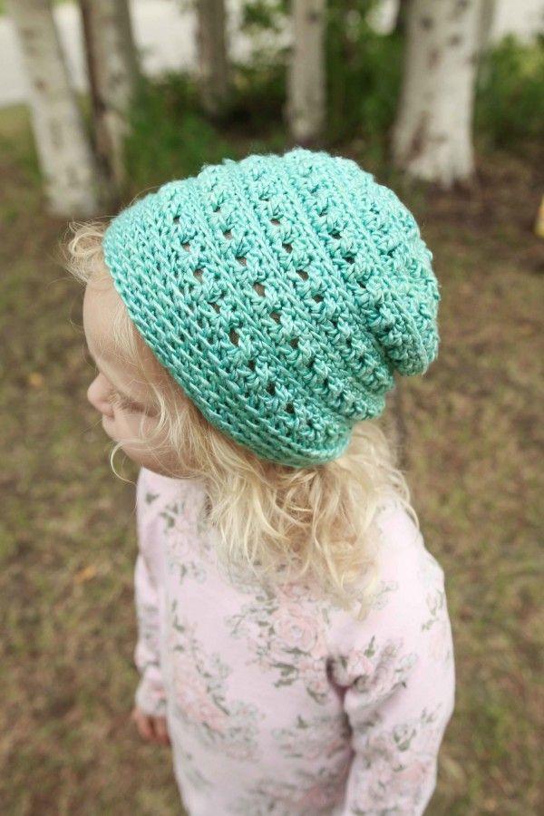 patrón del sombrero de ganchillo | gorros | Pinterest | Gorros ...