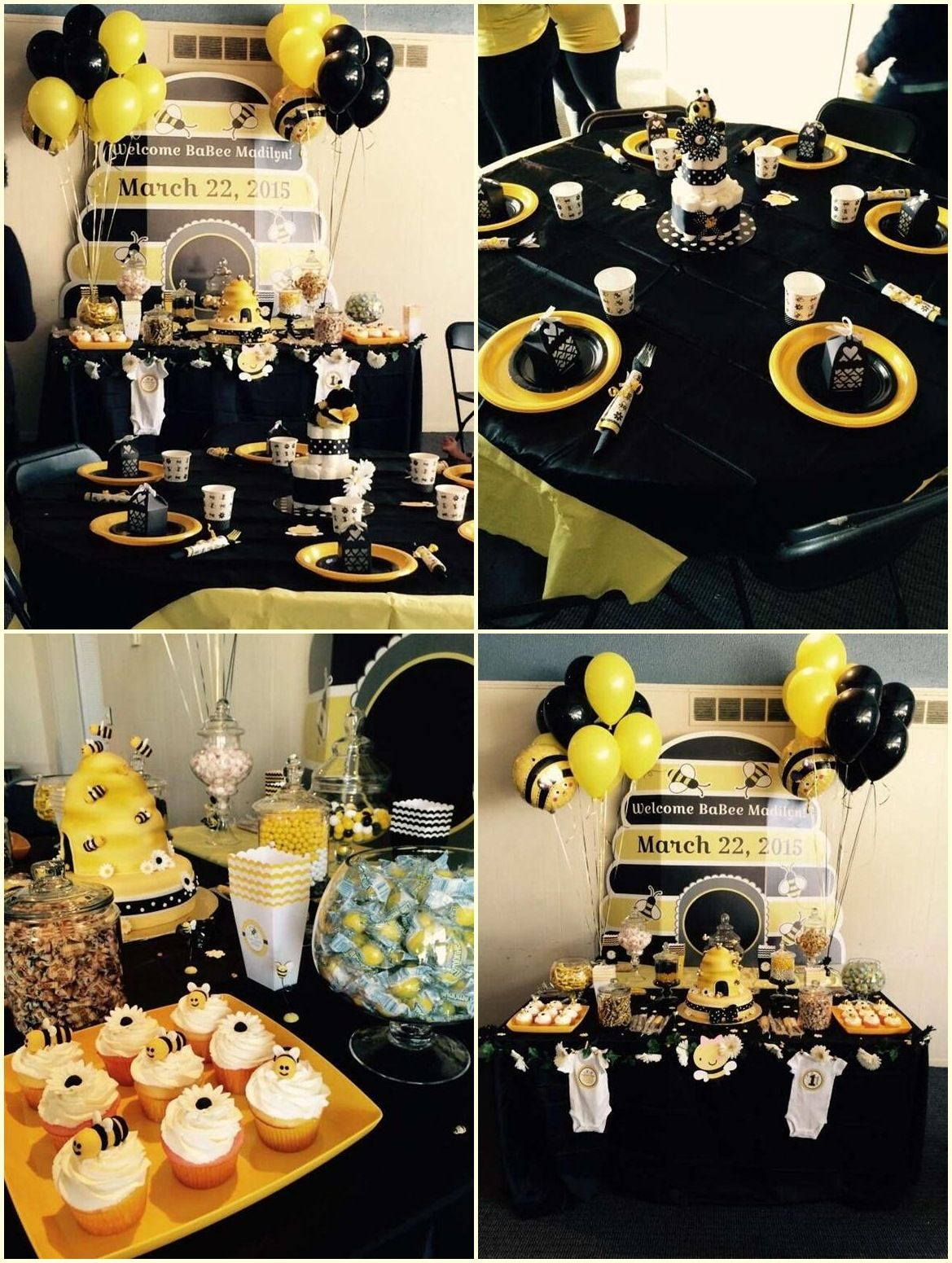 Bumble Bee Birthday Party Food Ideas Games Toddler Costume City
