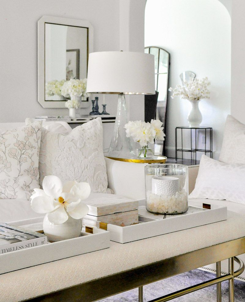 Summer Home Tour Styled For The Season Gold Home Accessories European Home Decor Home Decor Accessories