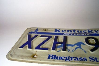I am considering making a purse with my license plate from my first car.