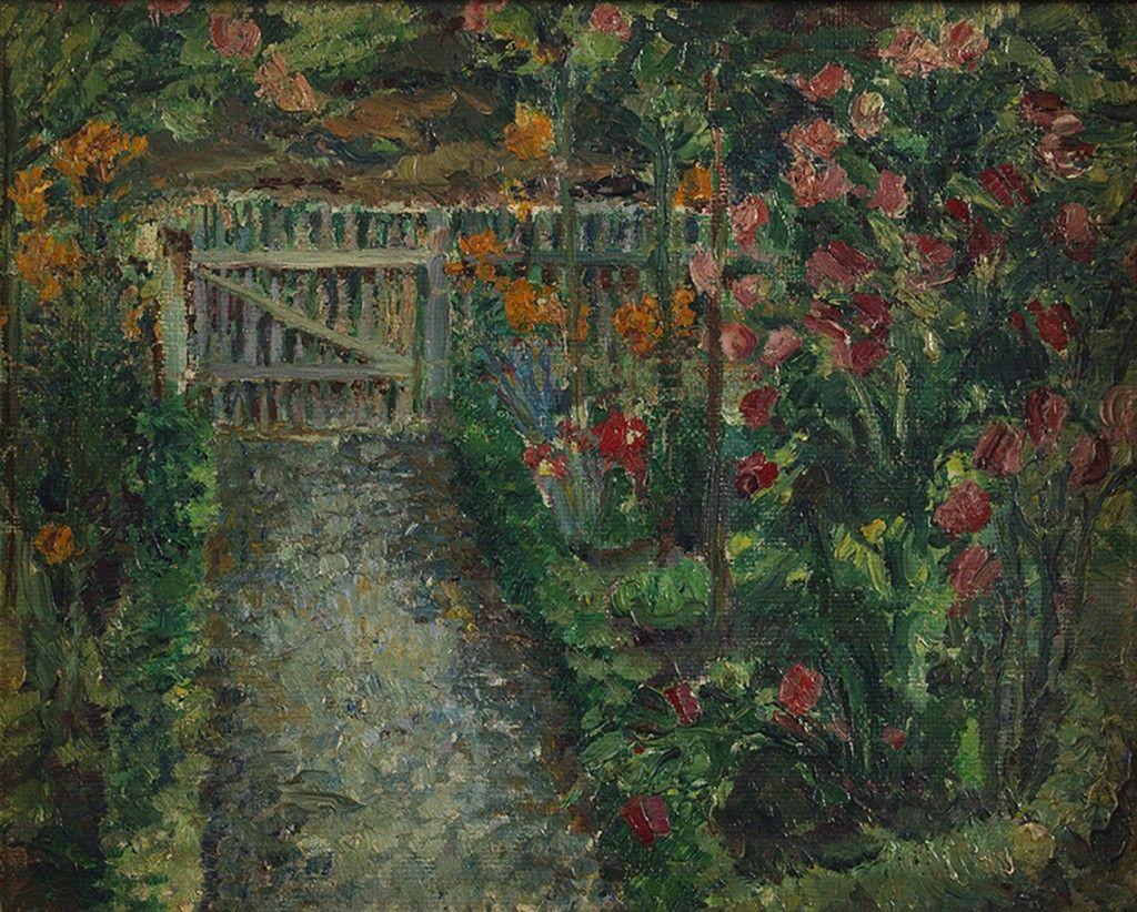 O Jardim 1912 Anita Malfatti Com Imagens Exposicao De Arte