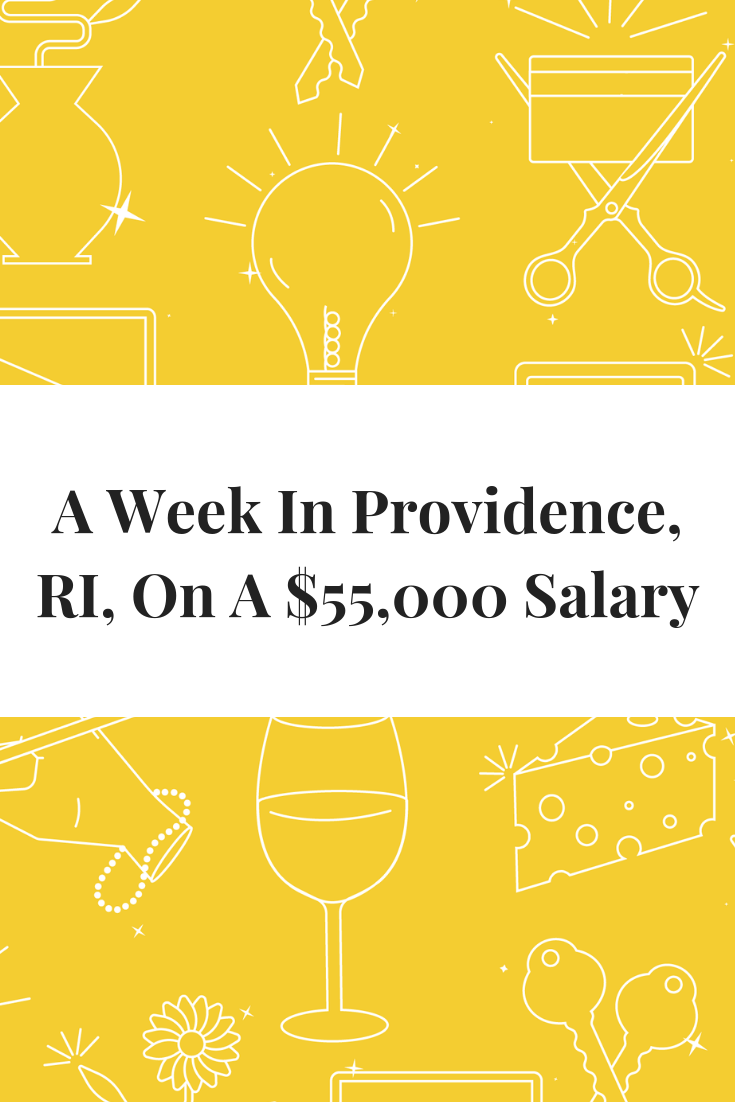 A Week In Providence Ri On A 55 000 Salary Event Planning Business Event Planner Salary Freelance Writing