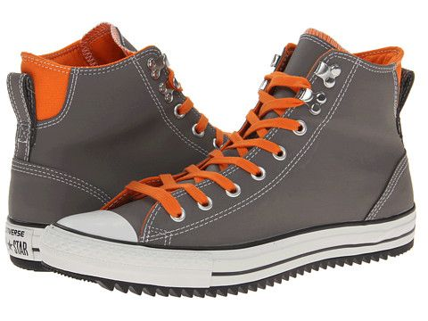 low priced 2bd4f 3397a Orange Laces. Converse Chuck Taylor® All Star® City Hiker Hi Charcoal  Gray Exuberance