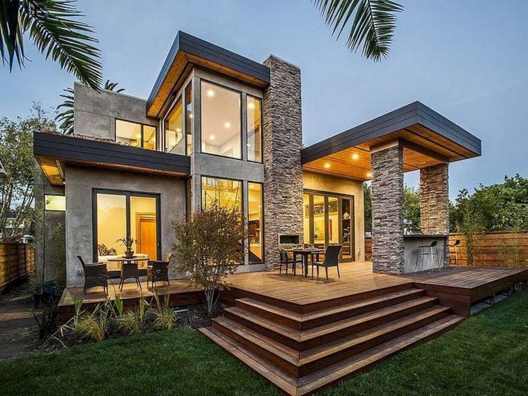 40 Amazing Rustic Home Exterior Designs Ideas Homeexterior