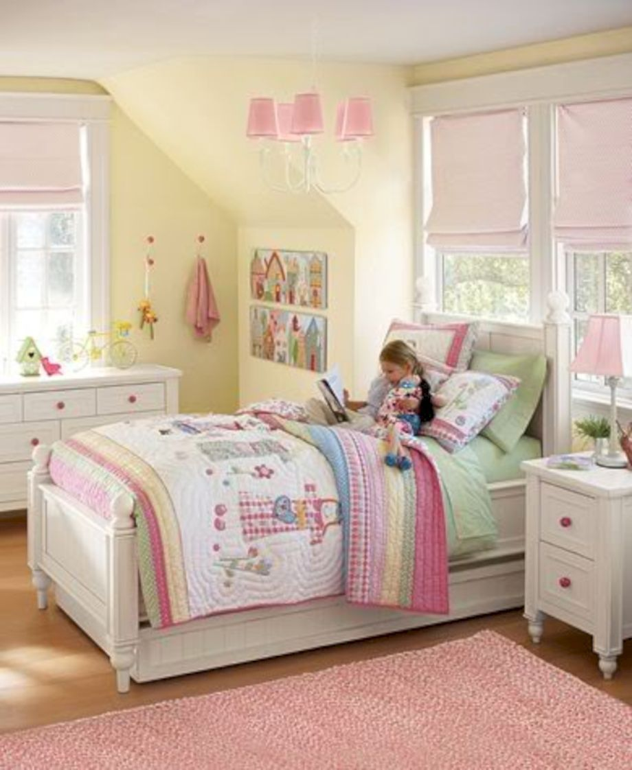 12 Cute Shabby Chic Childrens Bedroom Furniture Ideas - ROUNDECOR
