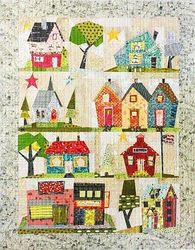 My Kinda Town Quilt Pattern by Fiberworks Heine at Creative Quilt ... : creative quilting ideas - Adamdwight.com