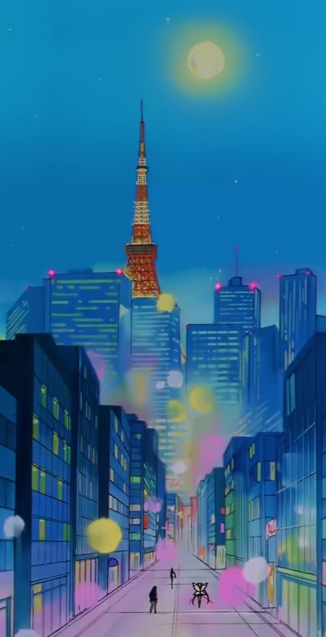 Sailor Moon Scenery Sailor Moon Wallpaper Sailor Moon Background Sailor Moon Aesthetic