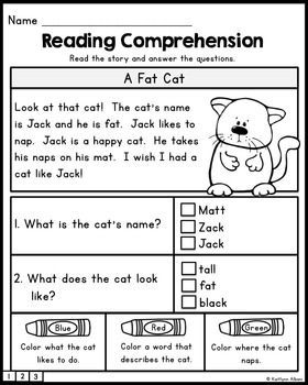 FREE Reading Comprehension Practice Passages | Reading ...