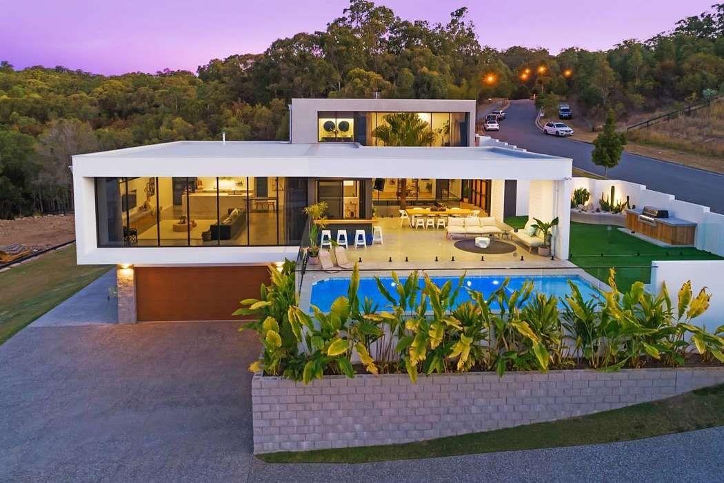 Inspirational Homes Hill House By Reece Keil Design Homeadore Www Fiori Com Au House On A Hill Build Your Dream Home Dream House Exterior
