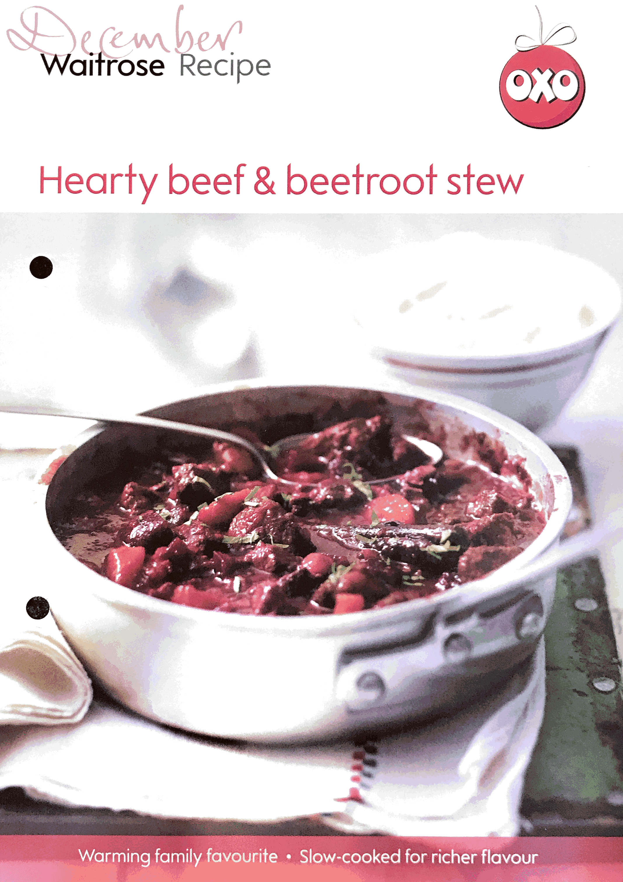 Beef and beetroot stew
