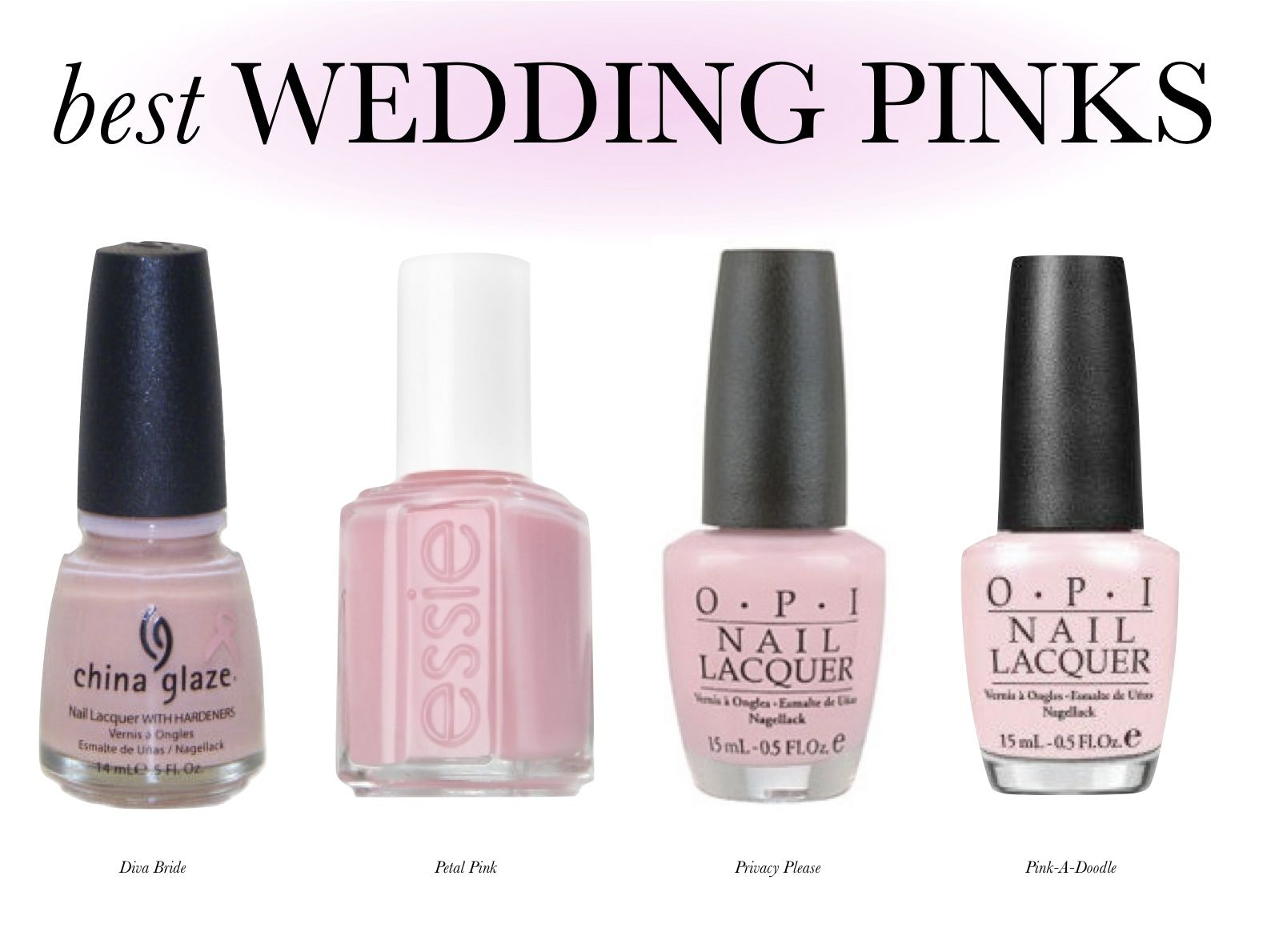 nail polish site full of perfect wedding color nail polish for every seasoncolor