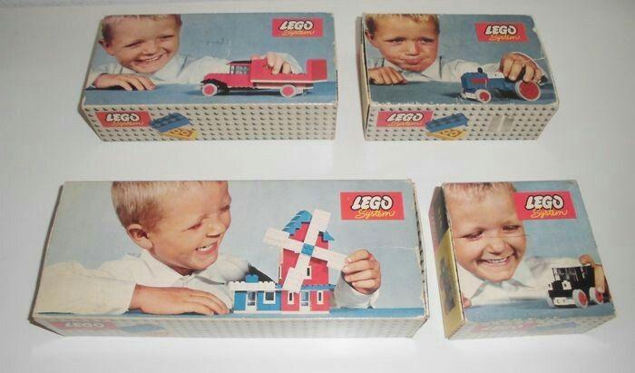 Lego Sets 1960s
