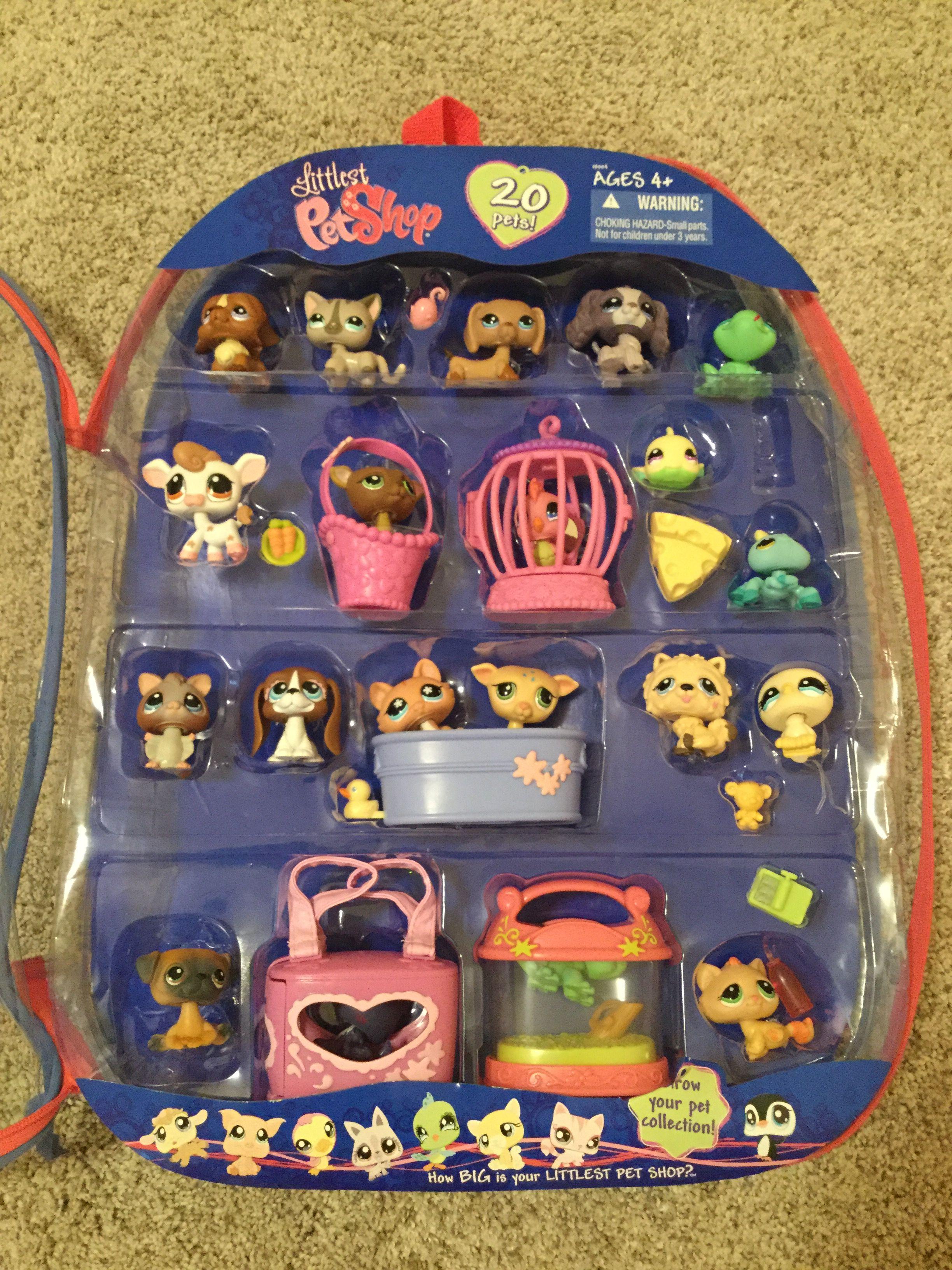Nicole S Mega Pack Of 20 Pets Littlestpetshop Lps Toys