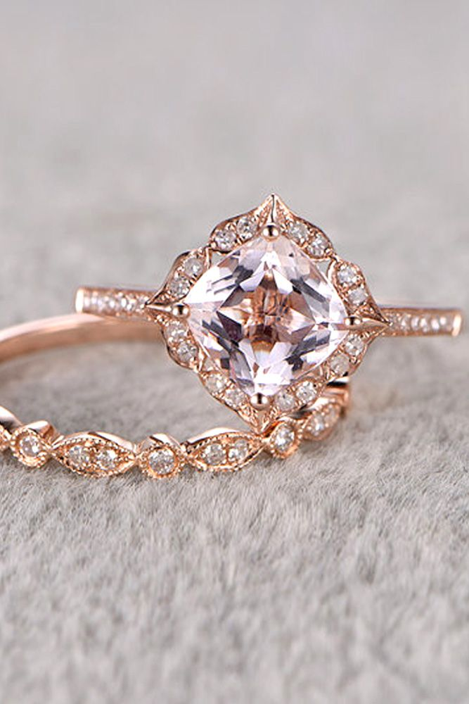 Morganite Engagement Rings We Are Obsessed With See More Http Www
