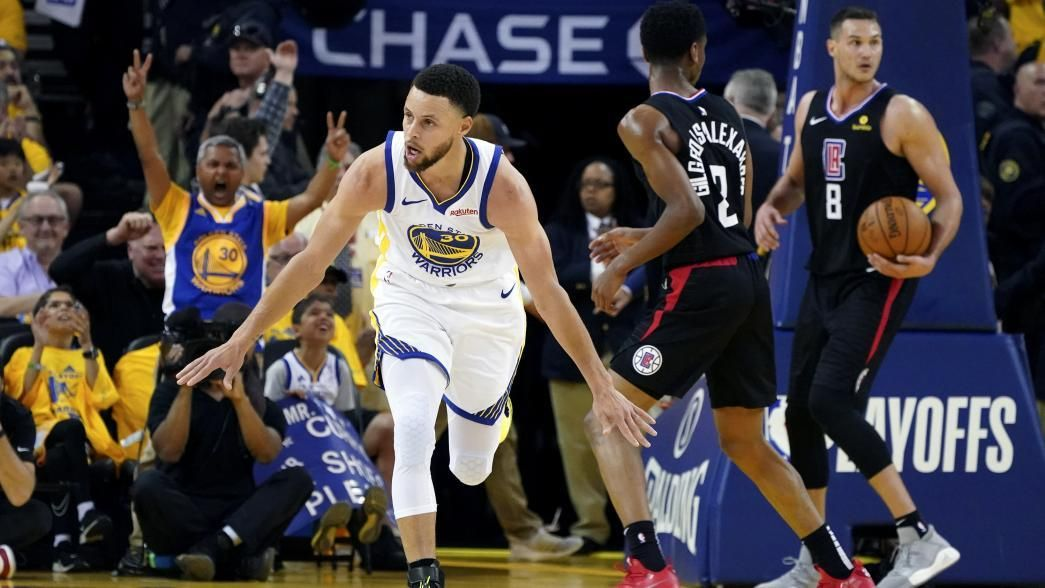 Clippers Have No Answer For Mighty Warriors In Opener Nba Playoffs Postseason Nba