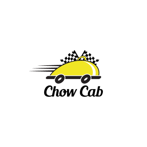 Chow Cab Design Logo For A Restaurant Delivery Service Called Chow Cab We Are A Restaurant Delive Restaurant Delivery Logo Design Restaurant Delivery Service