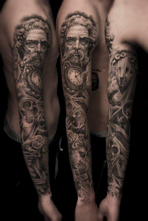 Pin De Jeremy A Schelmety En Fondos Tatuaje Zeus Tatuajes