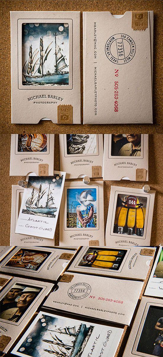 Creative Portfolio Style Business Cards by zhou via http://inspirationbrowser.com