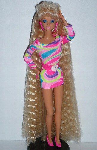 Barbie Superchioma | Barbie | Giocattoli anni 90, Ricordi d