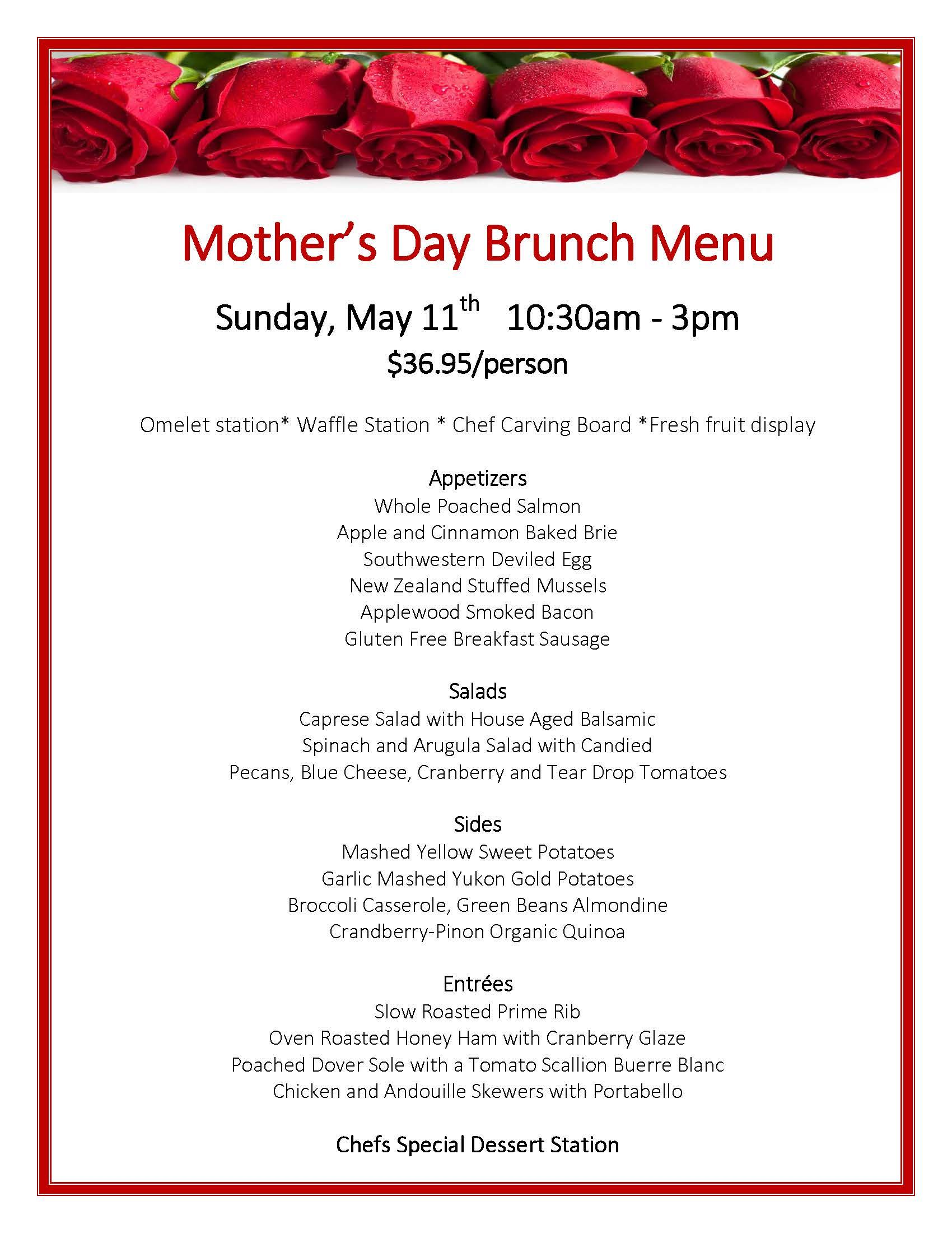 Mother S Day At Hassayampa Inn Make Your Reservations Today 928