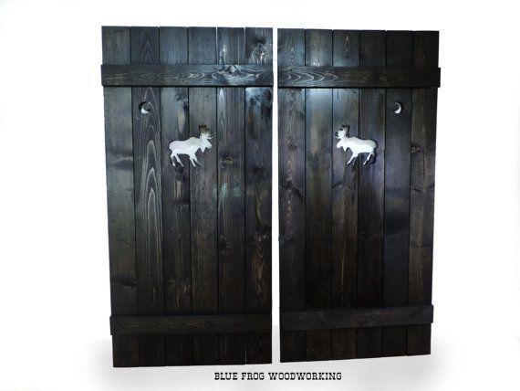 Saloon Doors Cafe Doors Wooden Gate Western Home Decor Rustic