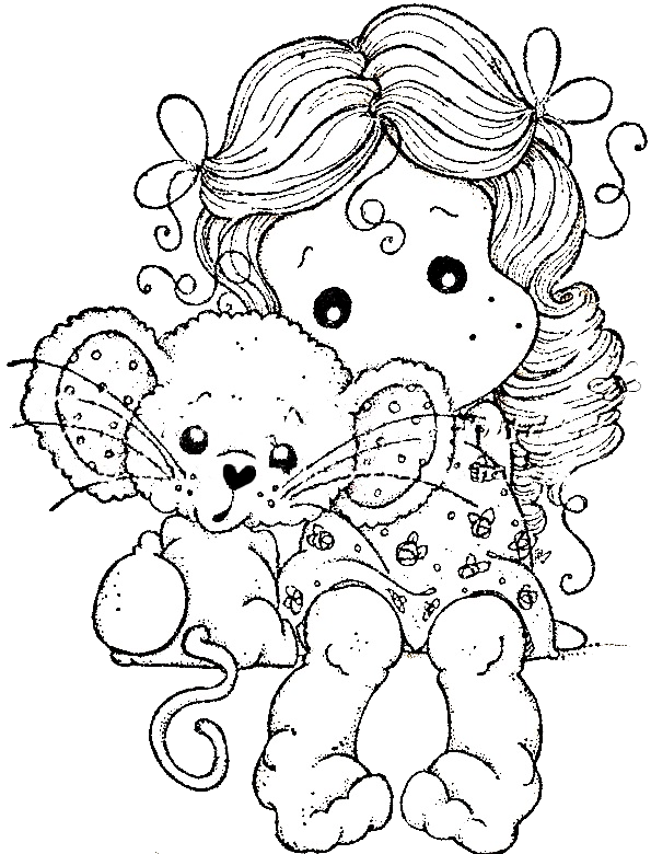mouse people coloring pages - photo#40