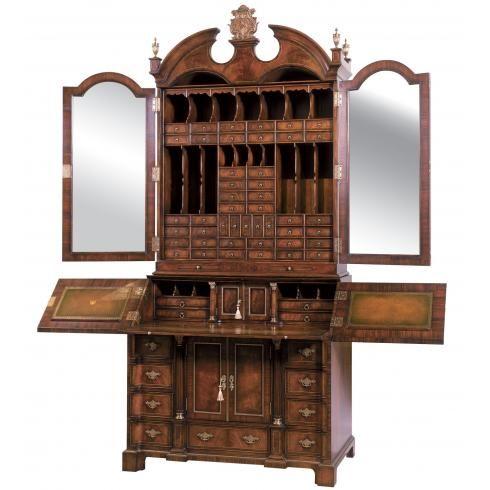 Althorp Mahogany Bureau Cabinet   Bureaux   Office U0026 Library Furniture    Brights Of Nettlebed