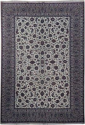 8x12 High Quality Wool Silk Authentic Iran Esfahan Rug Authentic Persian Esfahan Rug From Iran This Rug Is Perfect Part Of Rugs Round Carpets 9x12 Rug