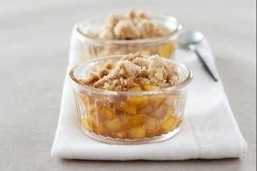 Découvrez cette recette en vidéo pour apprendre cette recette de Crumble aux deux pommes