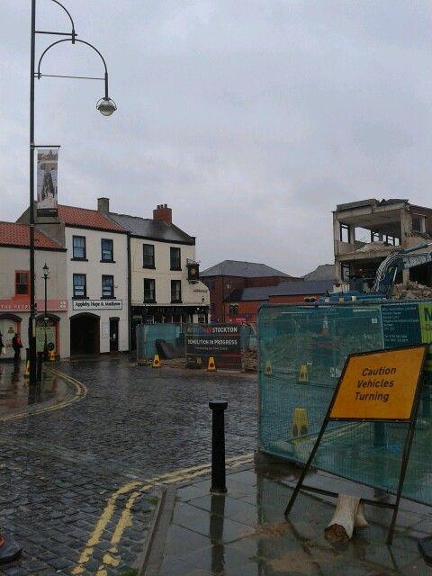 The end of Lyndsay House