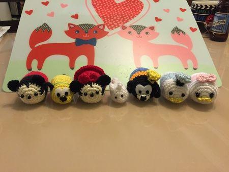Tsum Tsum Amigurumi Pattern Free : Crochet fantasy english pattern of tsum tsum cuties by dd 英文
