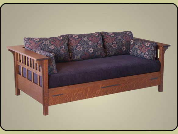 Mission Daybed Settle Sleeper Gorgeous Love this style for the