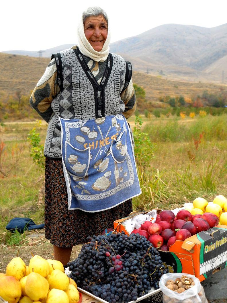 the  countryside of Armenia