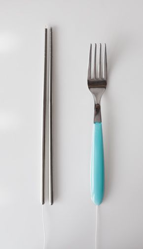 PlayFood interactive chopsticks and fork. 06/12