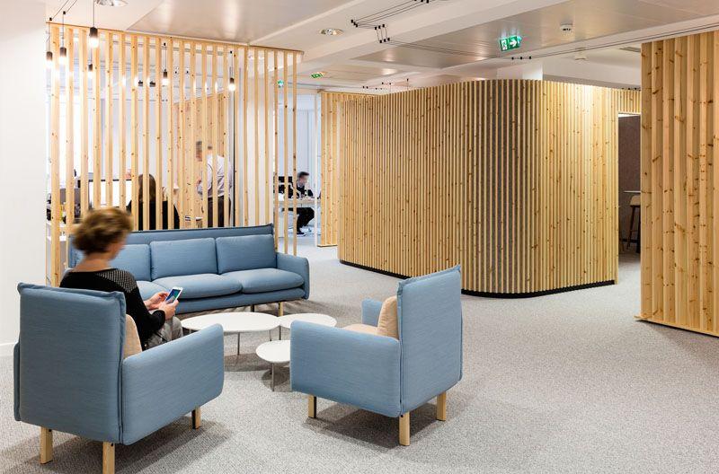 Comment décorer un intérieur avec des lames de bois bureau