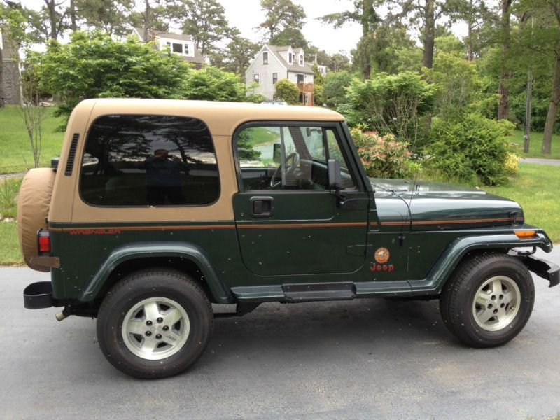 1994 Jeep Wrangler Sahara The Jeep That Started It All Jeep Yj