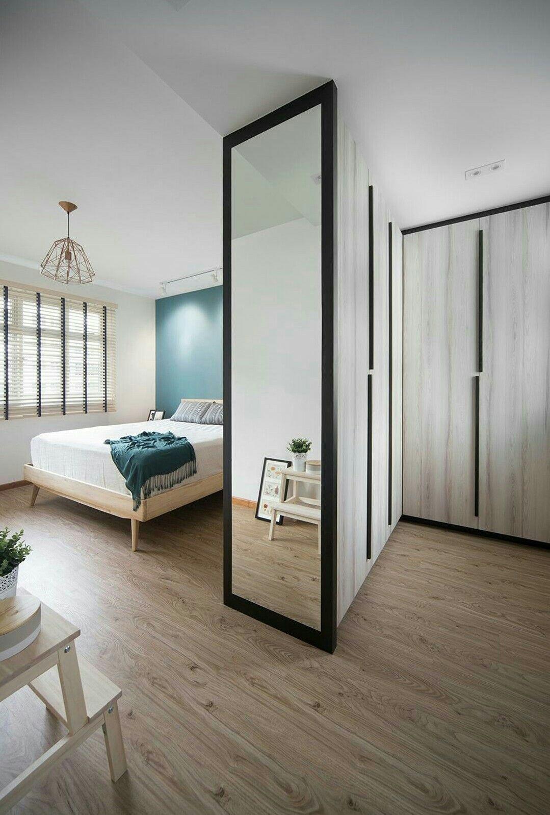 Full Height Mirror At The Right Spot Qanvast Home Bedroom Wardrobe Bat