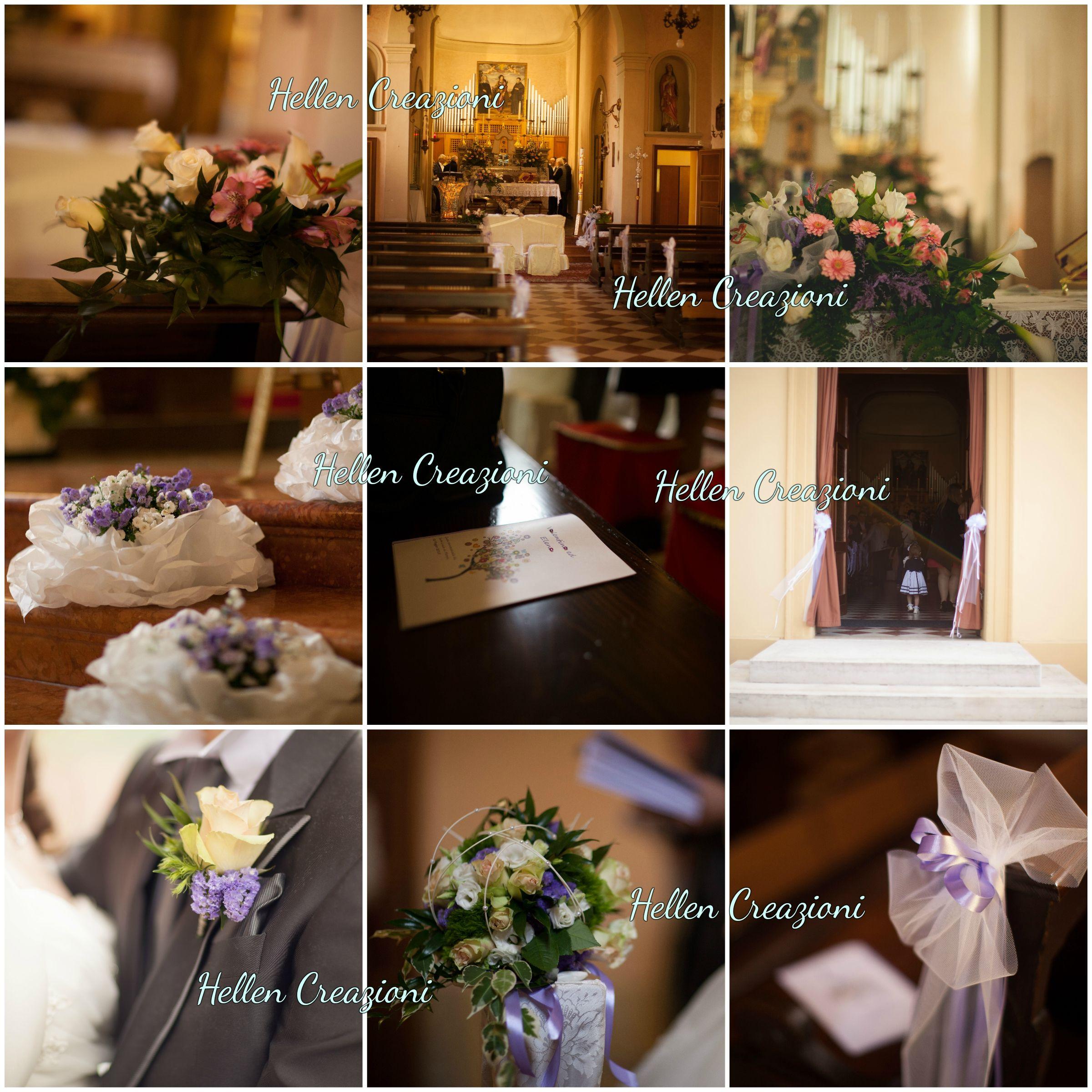 marriage preparation, lilla, llilac, allestimento chiesa, matrimonio, bottoniera, fiori, libretto