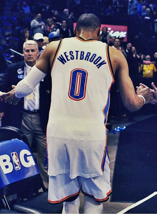 Russell Westbrook- Thunder Up!!