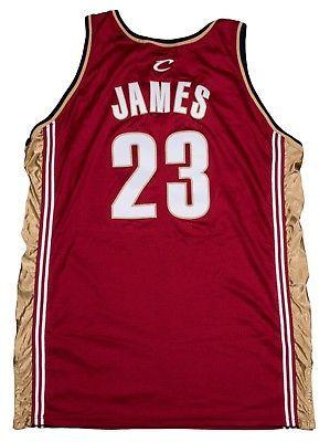 e65d968da LeBron James Rookie Season 2003-04 Game Used Road Jersey - COA Cleveland