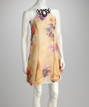 Take A Look At This Yellow Floral Ribbon Dress By Madison Paige On Zulily Today Ribbon Dress Dresses Floral Ribbon