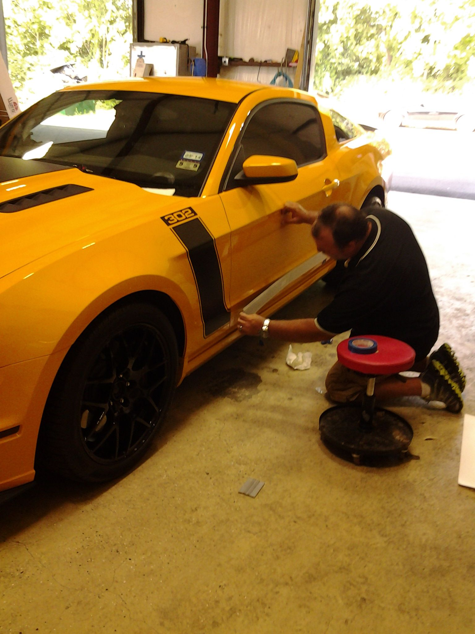 on es the new The Boss 2013 Mustang Boss 302