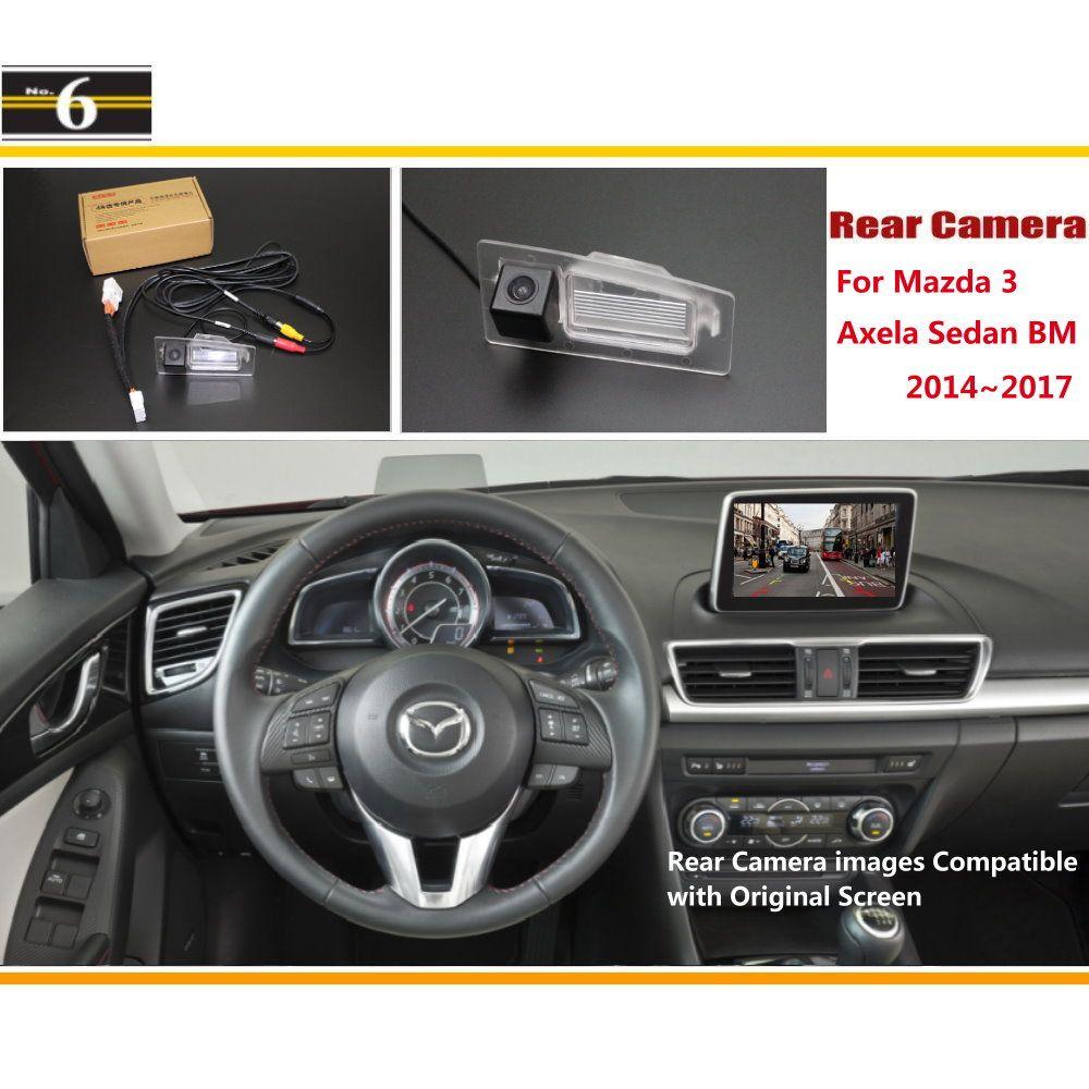 For Mazda 3 Mazda3 Axela Sedan Bm 2014 2017 Car Rear View Back