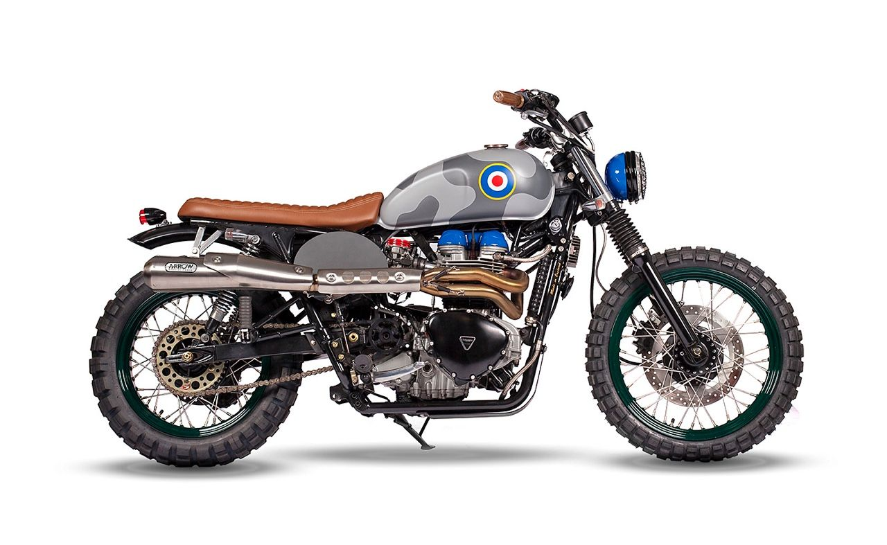 """scrambler-built: """" Low, wide, and just plain awesome, the """"Spitfire"""" from Maria Riding Co. as appearing on the Bikeshed.com """""""