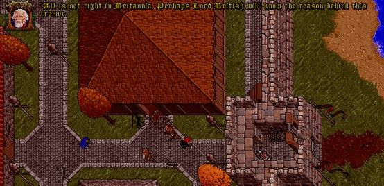 """It would appear that the fix for errors related to Ultima 7's """"earthquake"""" effect in DOSBox also corrects another issue.  http://ultimacodex.com/2013/05/the-ultima-7-earthquake-fix-fixes-more-than-that/"""