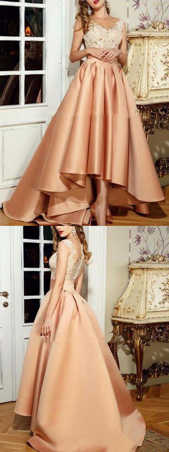 long prom dress aline simple modest african beautiful unique